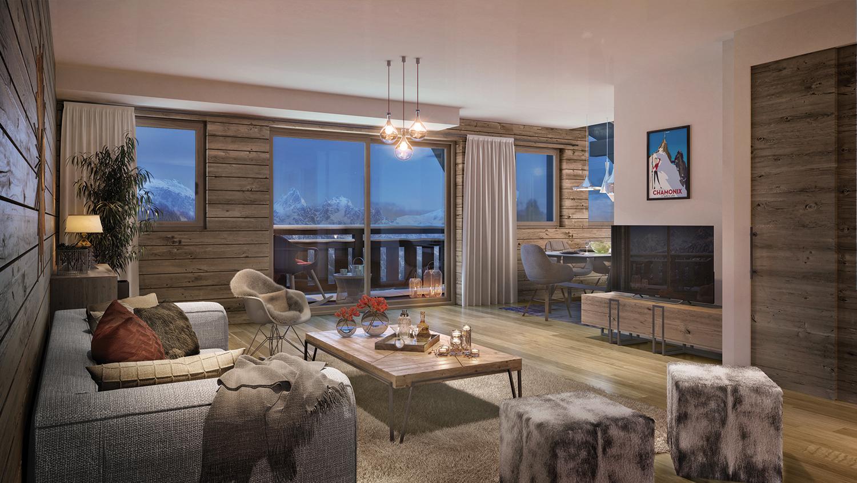 Carrelage Du Grand Sud buy appartement new 4 rooms 102.8 m² 1045000 € chamonix-mont-blanc 74400 -  le green